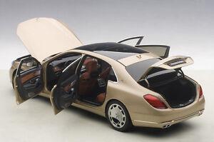 Discours De Voiture Mercedes Benz Maybach Classe S S600 Champagne Ou 1/18 Echelle En Stock