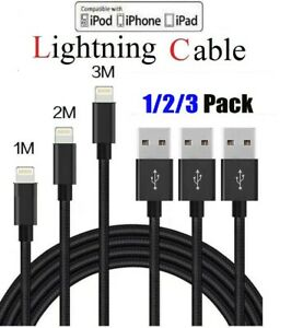 3FT-6FT-10FT-Braided-USB-Lightning-Charger-Cable-For-Iphone-6-7-8-X-XR-Plus-11-5