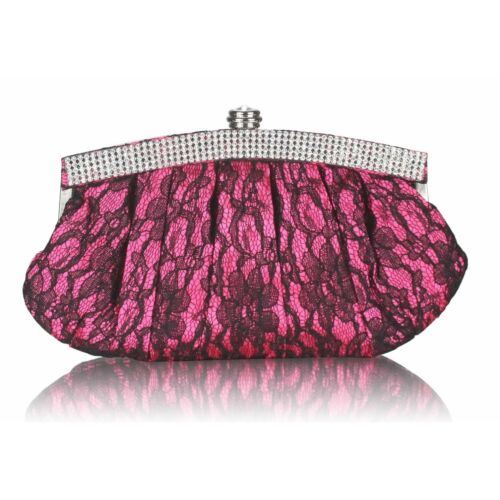 LeahWard Women/'s Satin Clutch Evening Bag Purse For Bridal Night Out Prom CWE004