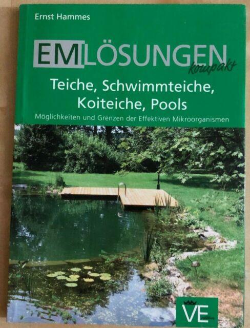 EM Lösungen für Teiche - Buch Effektive Mikroorganismen