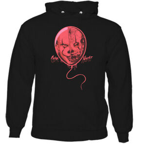 IT-PENNYWISE-HOODIE-Come-Home-Movie-Mens-Halloween-CLOWN-Unisex-Adults-Top