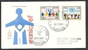 1971-ITALIA-FDC-VENETIA-320-UNICEF-TIMBRO-DI-ARRIVO-6575