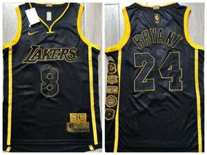 Kobe Bryant #8 #24 NBA LAKERS Men's Commemorative SnakeSkin ...