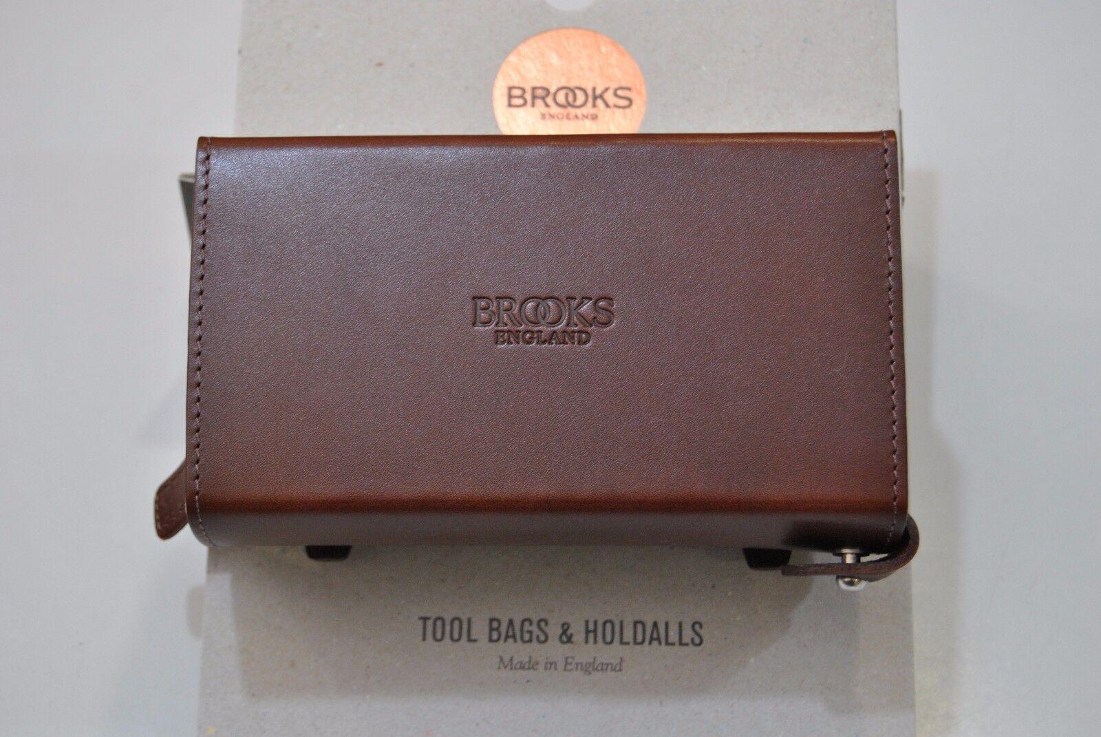 Borsello Sottosella BROOKS D-SHAPED Marronee Antico D-SHAPED SADDLE SADDLE SADDLE TOOL BAGS BRO 146d08