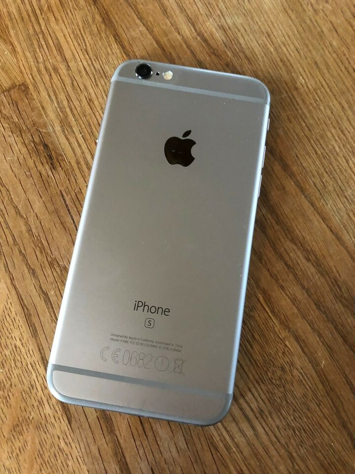 iPhone 6S, 128 GB, grå