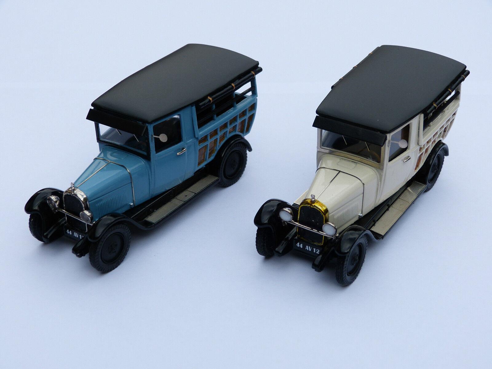 Kit pour miniature auto CCC : Citroën B14 boulangère 1928 référence 197