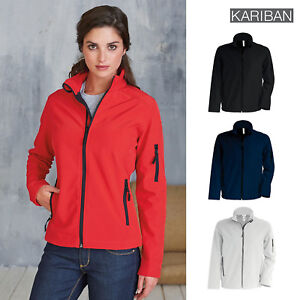 Kariban Contemporary Softshell Adult Breathable Water Resistant Jacket Warm Coat