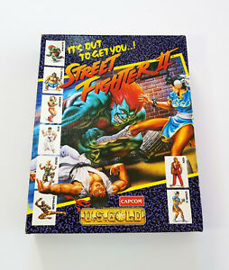 Amiga 500 A500 Street Fighter 2 Ii Big Box Video Game Complete