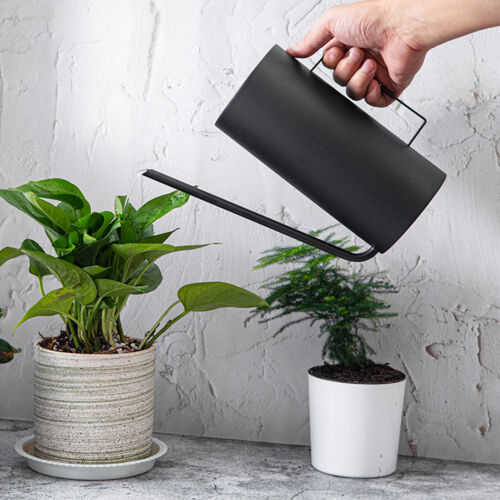 Stainless Steel Watering Can Garden Plant Flower Long Mouth Sprinkling Pot New