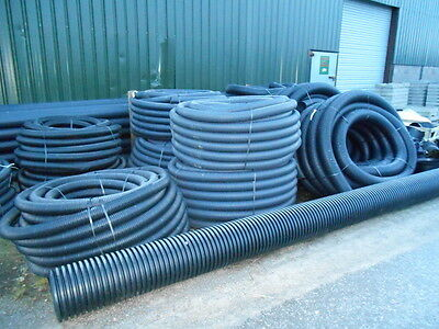 PERFORATED DRAINAGE PIPE / LAND DRAIN 160mm x 50 METRES