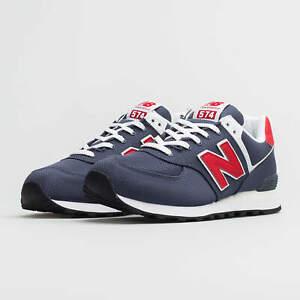 New-Balance-574v2-Sneaker-Uomo-ML574SCJ-GREY-RED-SCARPA