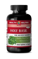 Anti-Stress Formula - Holy Basil Extract 745mg - Magnesium Capsules 1B