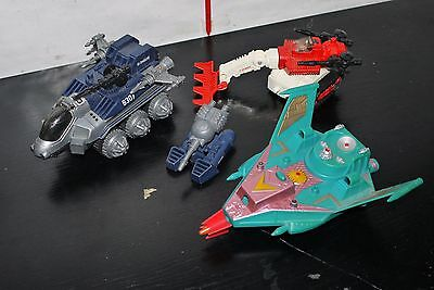 VINTAGE 80'S MULTIMAC GALAXY FIGHTER VEHICLE PART LOT