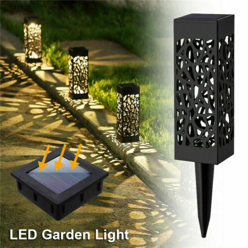 6 Pack Solar Powered Garden Light Patio Outdoor Pathway Led Landscape Lawn Lamp!