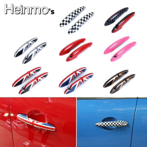 For Mini Cooper R50 R52 R53 R55 R56 R58 R59 Hatchback Door Handle Covers Pink
