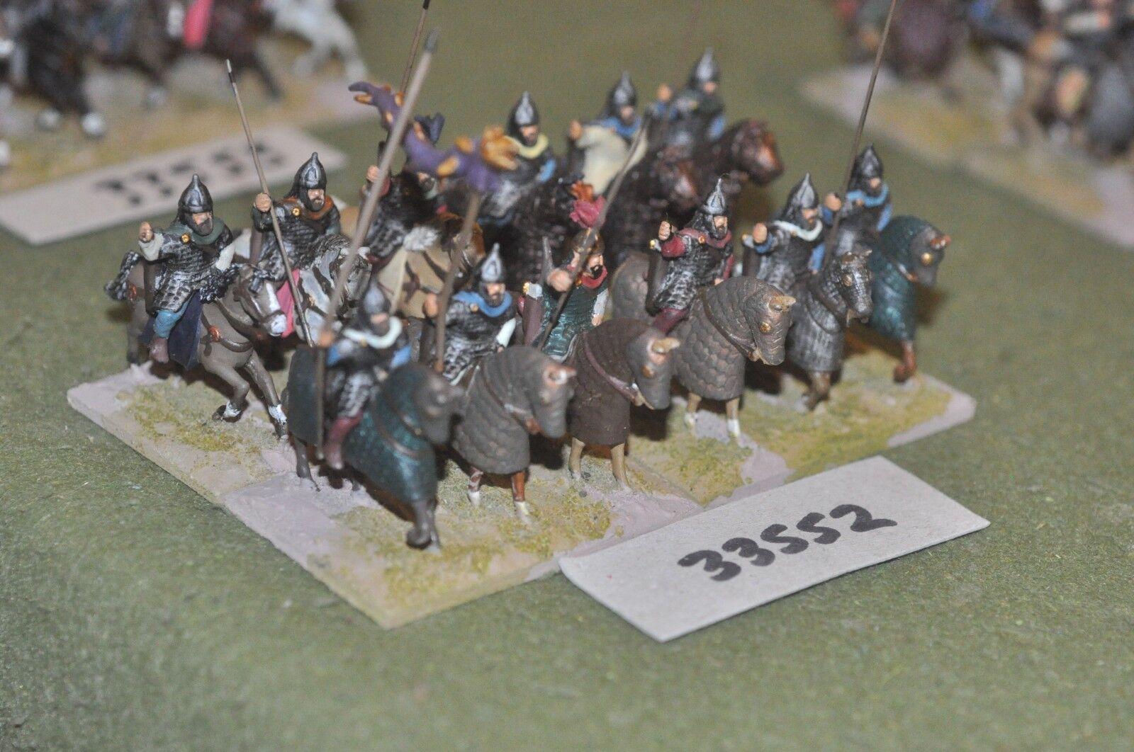 25mm roman era   sarmatian - heavy 12 figures - cav (33552)
