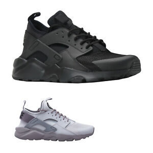 3eba80ca1087 Details about Nike Air Huarache Run Ultra Textile Lace-Up Low-Top Sneakers  Mens Trainers