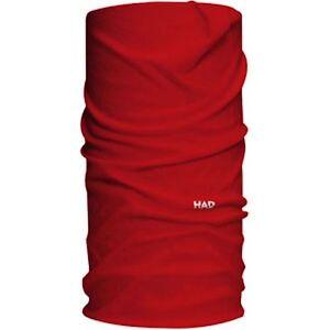 Had Solid Colours Red Halswärmer Halsschlauch Foulard Schlauchtuch-afficher Le Titre D'origine