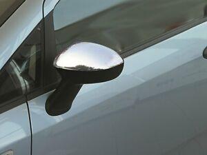 Fiat-Grande-Punto-amp-Evo-2006Up-Retroviseur-Chrome-Housse-2Pcs-S-Steel