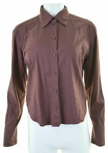 LEVI-039-S-Womens-Shirt-Size-16-Large-Brown-Cotton-U109