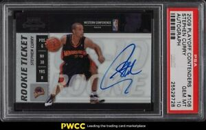 2009-Playoff-Contenders-Stephen-Curry-ROOKIE-RC-AUTO-106-PSA-10-GEM-MINT