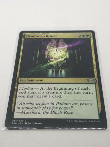 MTG 1x deathreap ritual 194//332 uncommon double masters Magic The Gathering NM