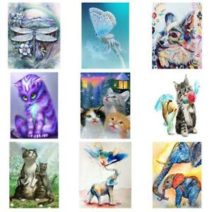 5D-DIY-Full-Drill-Diamond-Painting-Animal-Embroidery-Mosaic-Craft-Kit-Home-Decor