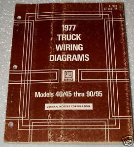 1977 GMC CHEVY 40 50 60 90 95 MEDIUM HEAVY DUTY TRUCK BUS ...