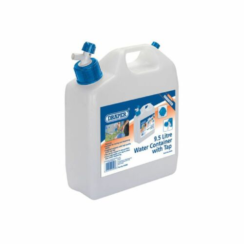 Draper 1x 9.5l Water Container with Tap Garage Professional Standard Tool 23246
