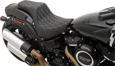 Saddlemen Renegade LS Solo Seat Standard Black Compatible with 18-19 Harley FLFB