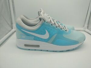 33ede1aebb Nike Air Max Zero Essential GS UK 5.5 Pure Platinum White Still Blue ...