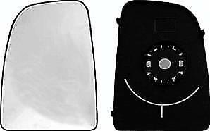 Miroir Glace rétroviseur gauche pour FIAT DUCATO III phase 1, 2006-2014, verre