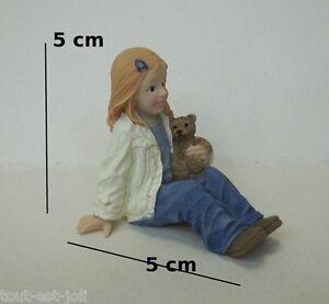 Fille Poupée Assise, Miniature, Maison De Poupée,personnage, Enfant,meisje,kind