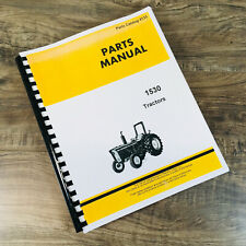 Parts Manual For John Deere 1530 Tractor Catalog Assembly Exploded Views Numbers