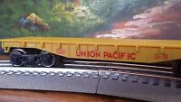 Lionel Flat Flatcar O Gauge O27 Union Pacific With Metal Wheels