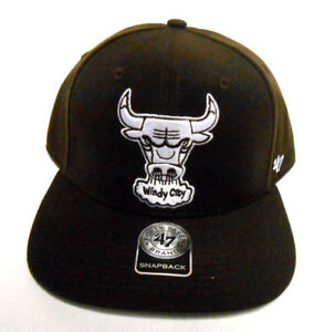 47a02e44490 47 Brand Chicago Bulls Sure Shot Windy City Snapback Adjustable NBA ...