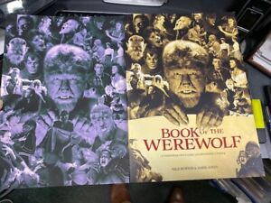 CLASSIC-MONSTERS-of-the-Movies-BOOK-OF-THE-WEREWOLF-with-limited-artprint