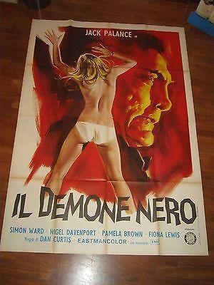 MANIFESTO,4F,IL DEMONE NERO,DRACULA 1973,Jack Palance,Curtis,Brown,SEXY HORROR