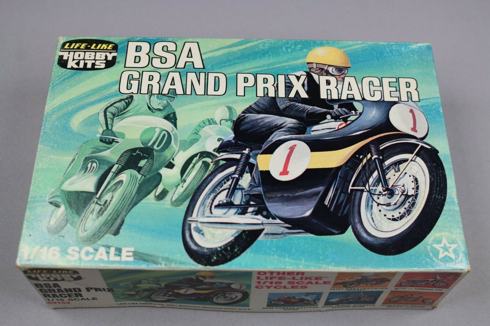 ZF1020 Life Like Hobby Kits 1 16 16 16 maquette moto 09153 BSA Grand Prix Racer 280611