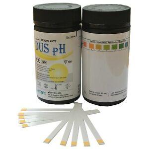 100-x-Body-PH-Alkaline-5-0-8-5-GP-Urine-Water-Saliva-Reagent-Test-Strip-Kits