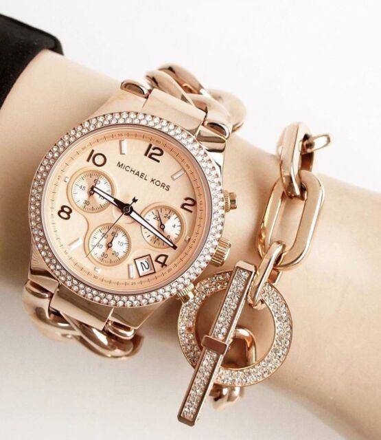 0ee9ea030d2c Michael Kors Women s Twist Quartz Mineral Crystal Watch - MK3247 for sale  online