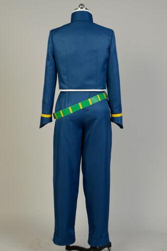 JoJo/'s Bizarre Adventure Okuyasu Nijimura Cosplay Costume Suit Uniform Outfit