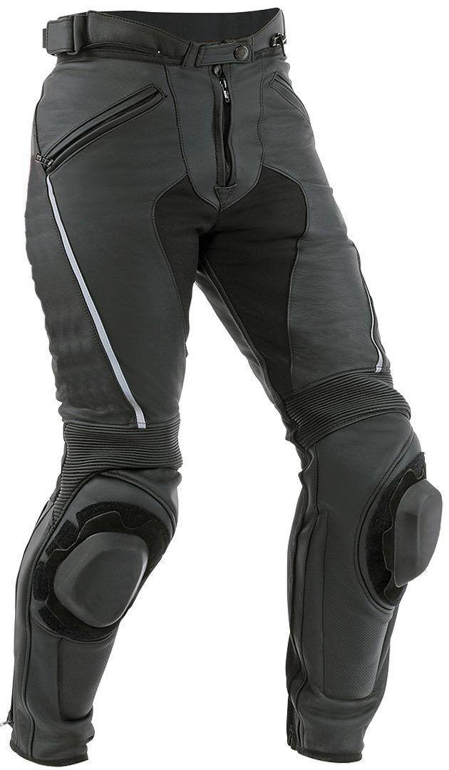 Moto Pantalón de cuero de la motocicleta del cuero de la moto Todo el tamaño