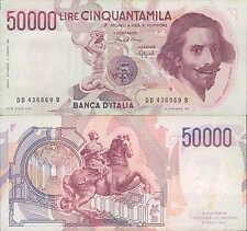 """50.000 lire 1990 """"Bernini"""""""