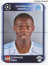 N°373 MBIA # CAMEROON MARSEILLE OM UEFA CHAMPIONS LEAGUE 2011 STICKER PANINI