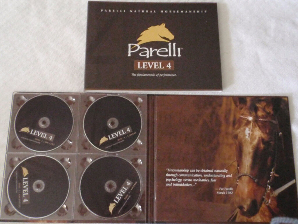 Parelli Pathways - LEVEL 4 - THE NATURAL HORSE TRAINING - MSRP -   EXCELLENT