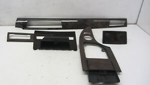 OEM-BMW-E60-525-530-550-Interior-Wood-Trim-Dashboard-Center-Console-Trims-122116