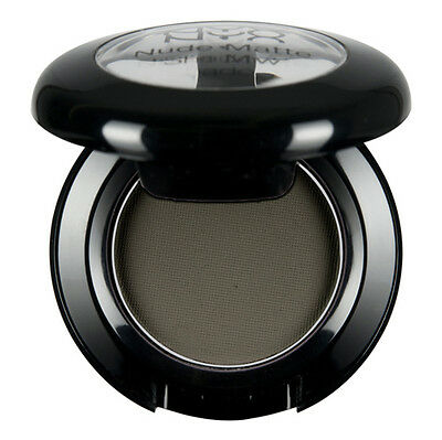 1 NYX Nude Matte Eye Shadow NMS12 Confession ( Deep green grey ) New & Sealed