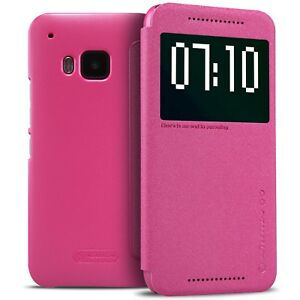 Cover-Case-For-HTC-One-M9-Sparkle-Slim-Folio-With-Function-Smart-Sleep-R