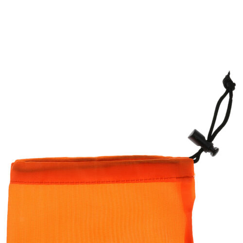 Portable Camping Tent Pegs Nails Stake Storage Drawstring Bag Case Pouch M